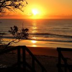 Urunga - Hungry Head Beach Sunrise Stairs