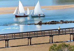 Urunga Yacht & Boardwalk Scenes Peter Lister 1