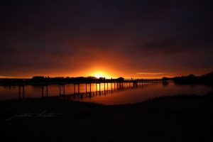 Urunga Sunrise Boardwalk Peter Lister