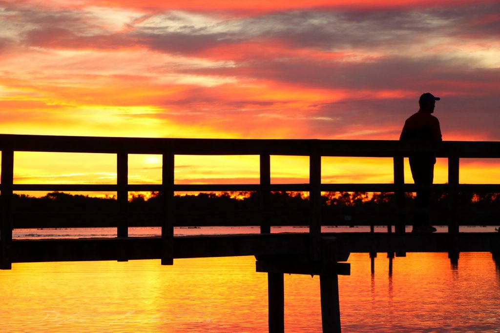 Urunga NSW Sunrise at the Lido Boardwalk